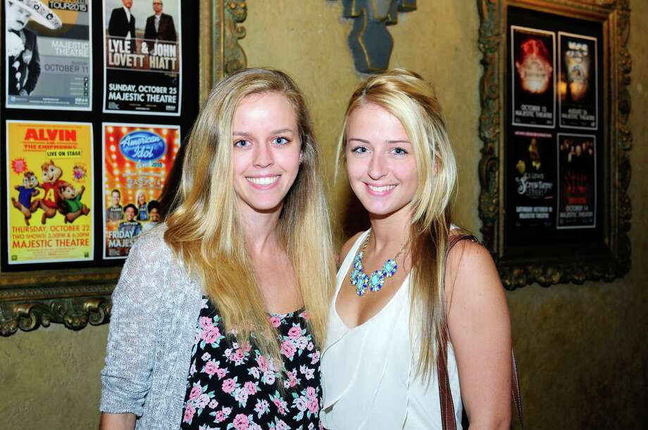 """Pop sweethearts Colbie Caillat and Christina Perri brought their """"The Girls Night Out, Boys Can Come Too Tour,"""" to the Majestic Theatre Saturday night. These are the fans who turned out in force. Photo: By Brenda Piña,  For MySA.com"""