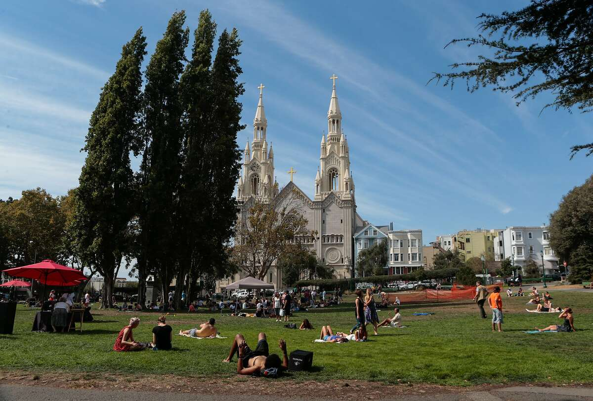 San Francisco is expecting temperatures in the low 80's today.