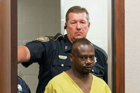 David Conley makes his first court appearance last week after the mass killing.