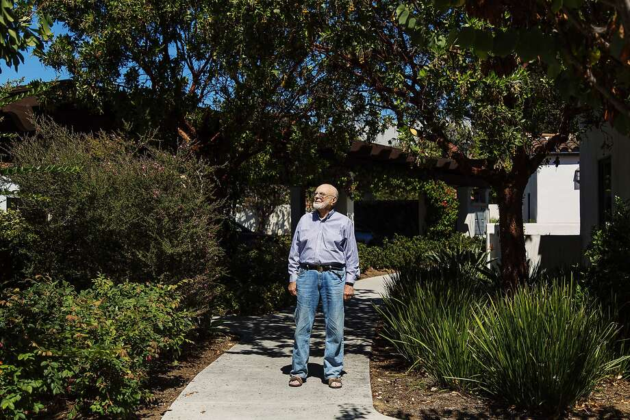 Mischa Seligman gave his mother his word that he would help have their land in Diamond Heights donated and preserved for good use. He is seen in his home in Santa Barbara. Photo: Kendrick Brinson