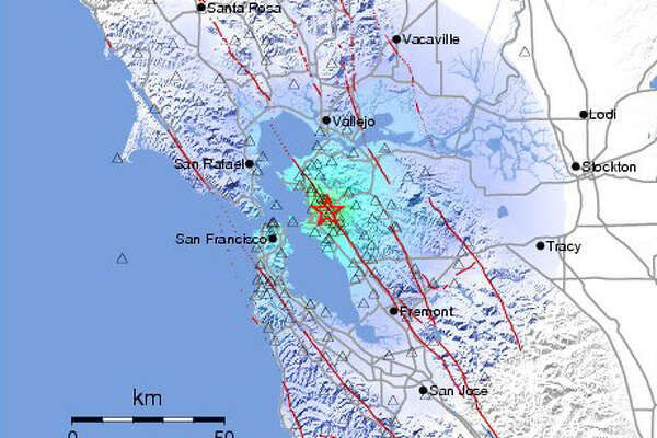 A magnitute 4.0 earthquake struck in Piedmont on the Hayward Fault this morning at 6:49 am.
