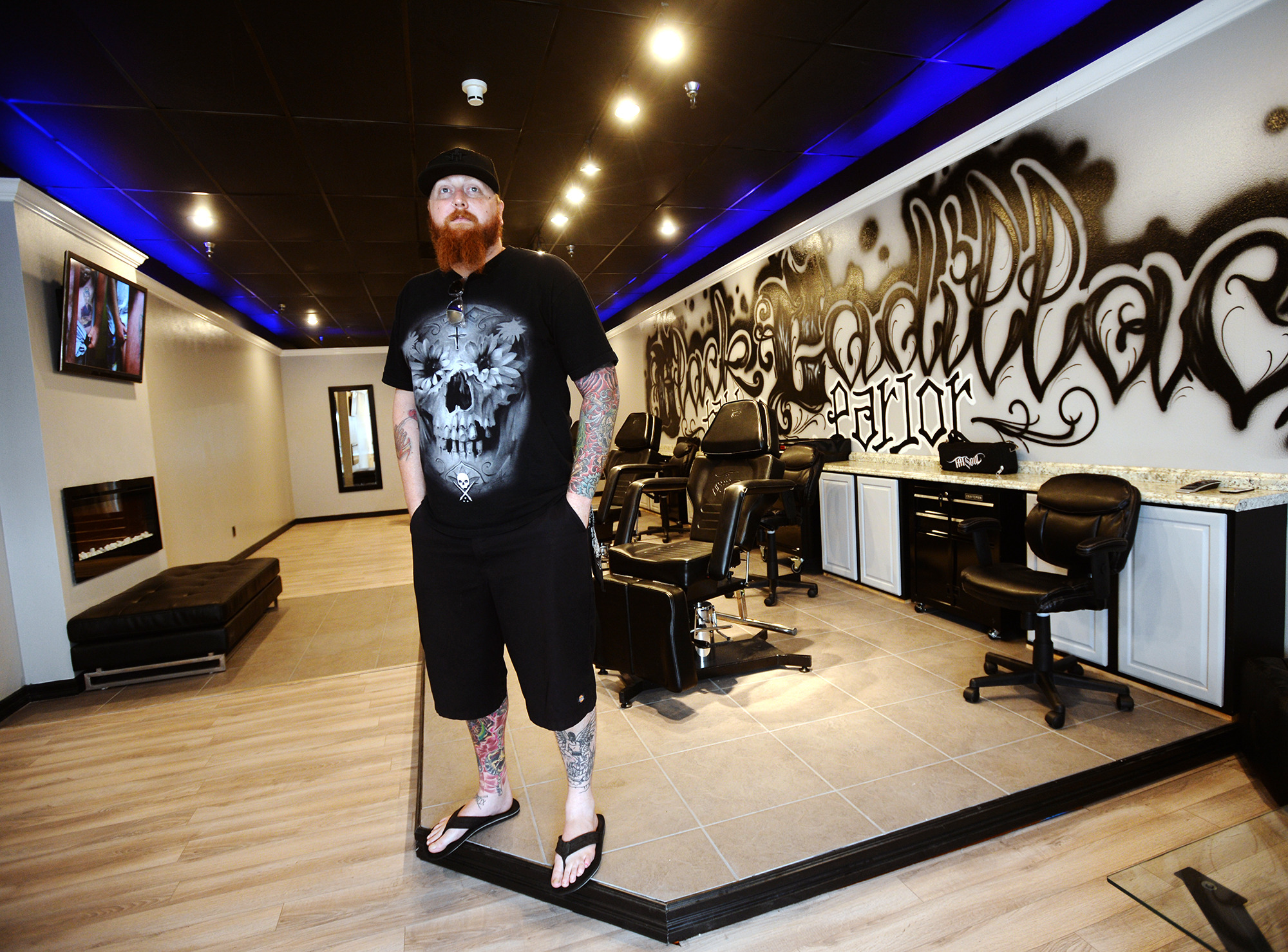 Tattoo shop intends to move needle in traditional for Tattoo shops studio city