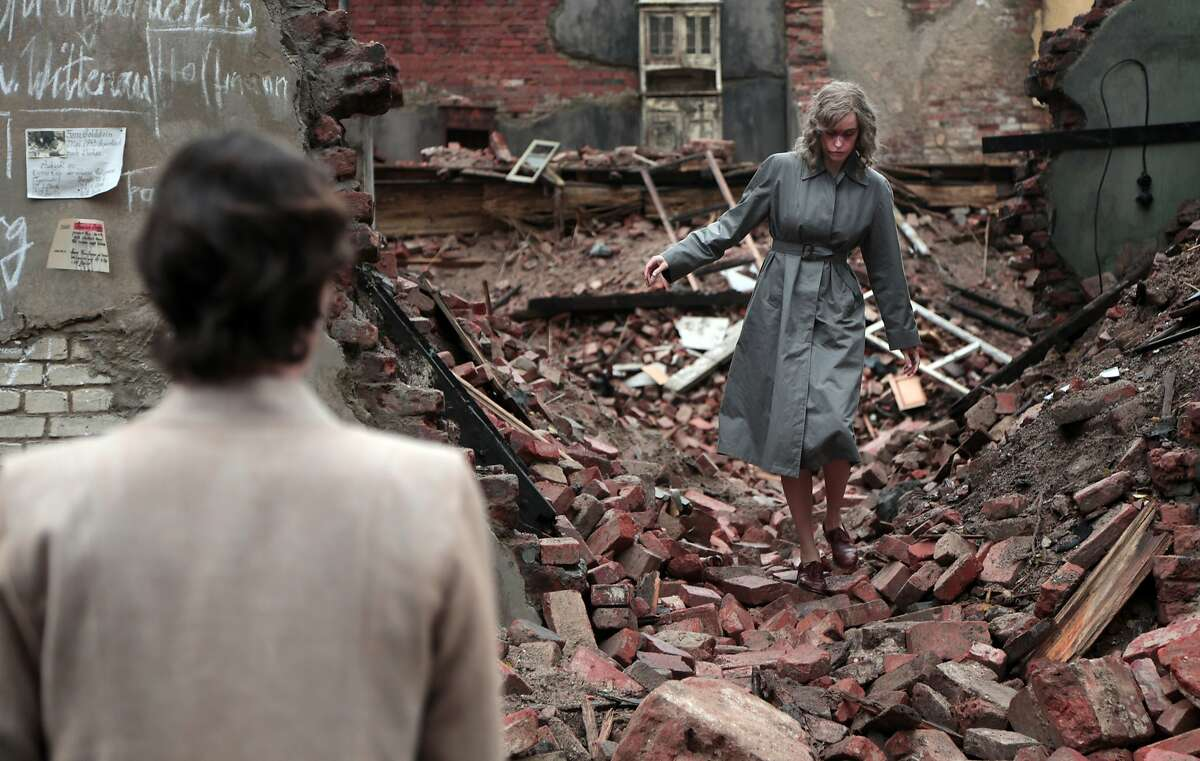 Concentration camp survivor Nelly, played by Nina Hoss, searches the rubble of postwar Berlin for mementos in