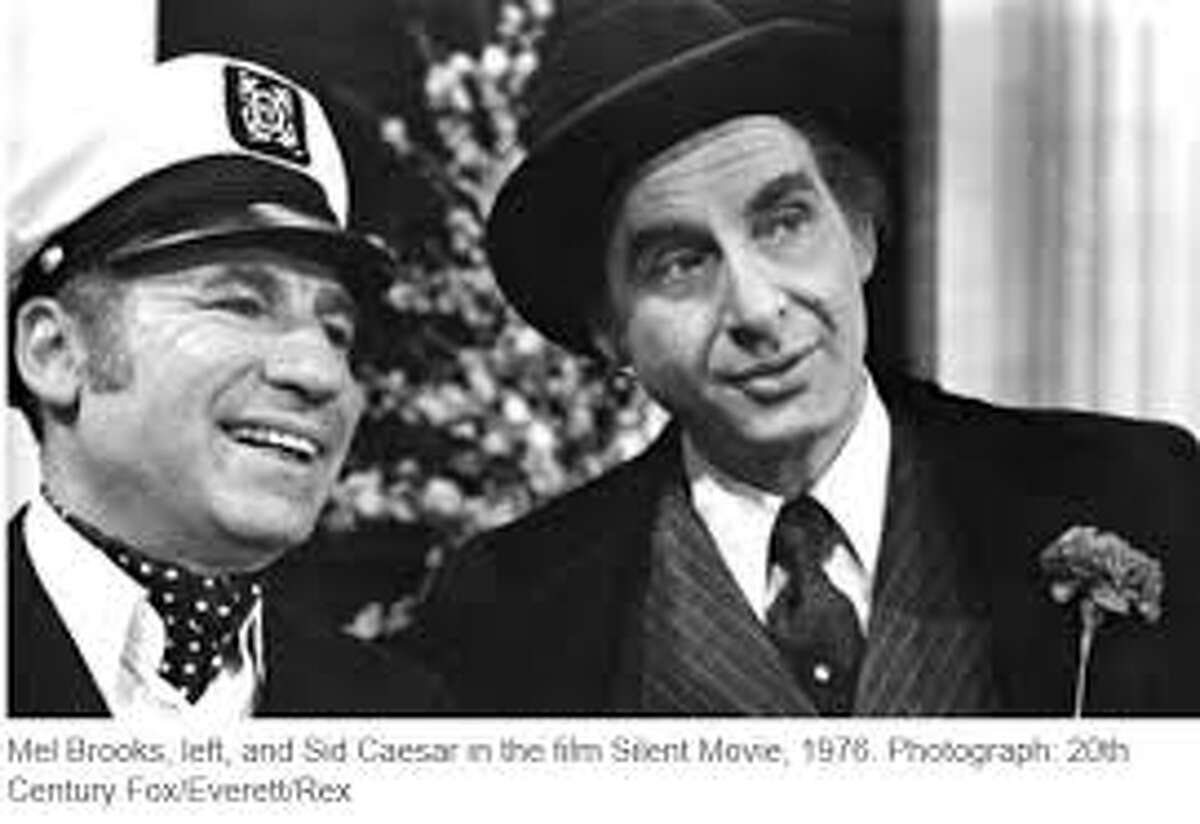 """Mel Brooks appeared with Sid Caesar on """"Your Show of Shows,"""" which ran from 1950-1954."""