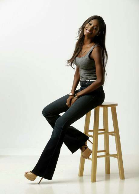 """Hadassah Richardson, currently competing on the new season of """"America's Next Top Model"""", poses  Tuesday, Aug. 11, 2015, in Houston.   She is one of 14 models vying for the prize. She attended Clements High School and was Miss Sugar Land 2013. ( Melissa Phillip  / Houston Chronicle ) Photo: Melissa Phillip, Staff / © 2015 Houston Chronicle"""