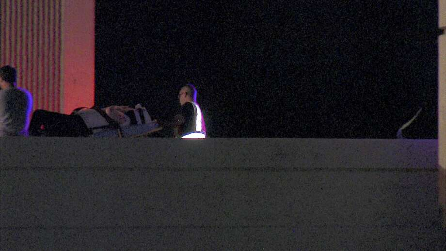 Mark Hernandez, 41, crashed into the rear of an 18-wheeler on Interstate 10 West and Northeast Loop 410 around 1:13 a.m., according to the Bexar County Sheriff's Office. Photo: 21 Pro Video
