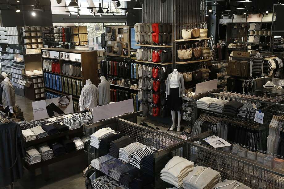 The view of the new Muji store at the Stanford shopping center in Palo Alto, Calif., on Friday, August 14, 2015. Photo: Liz Hafalia, The Chronicle