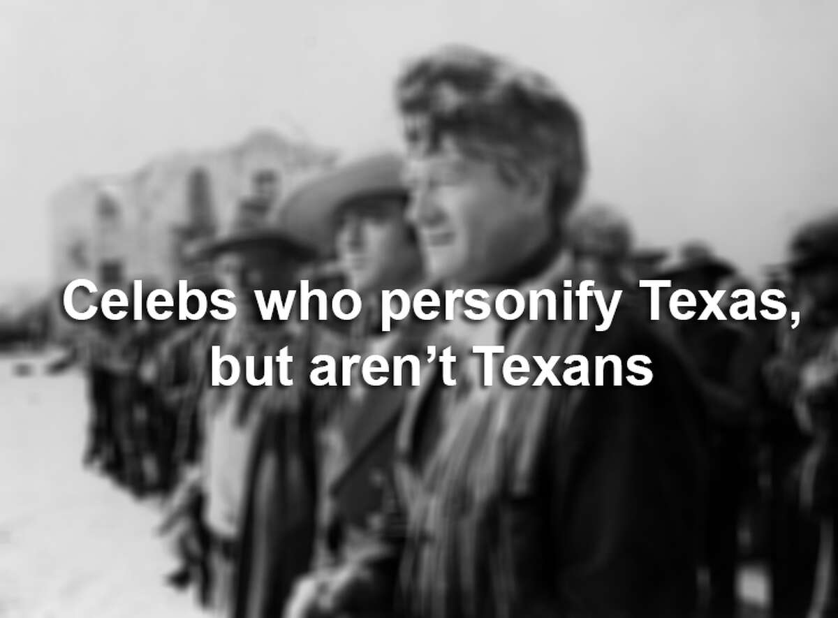 These people all have solid Texas cred, but alas, they are not real Texans.