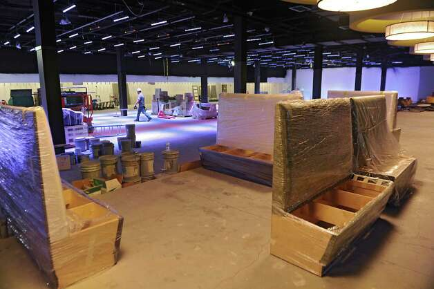 The 22 lane bowling alley is still under construction at Latitude 360 in Crossgates Mall on Thursday, March 19, 2015 in Guilderland, N.Y. The fiscally troubled luxury bowling alley will not be coming to Crossgates Mall after all.(Lori Van Buren / Times Union archive) Photo: Lori Van Buren / 00031037A