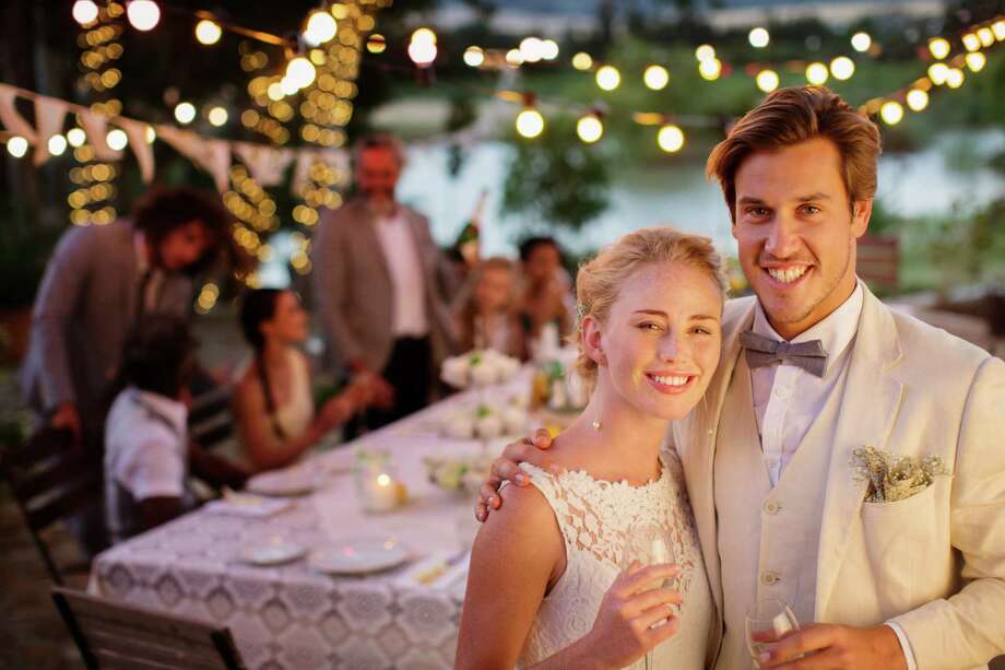According to customer service blog Thumbtack's 2016 Wedding Trends Report, here in the state of Texas our weddings aren't as Texas-sized as one would assume. Click-thru to see the average cost of some wedding basics here in the Lone Star State.  Photo: Caiaimage/Tom Merton, Getty Images / Caiaimage