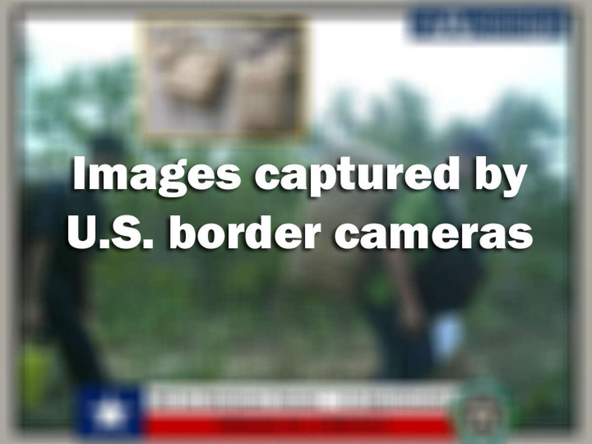 these images were captured by cameras along the U.S./Mexico border by the Border Patrol and other agencies.