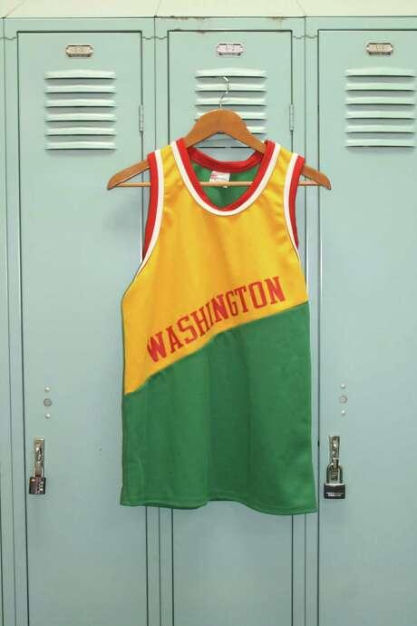 Ken Hoffman's Washington Generals jersey. Photo: Melissa Ward Aguilar