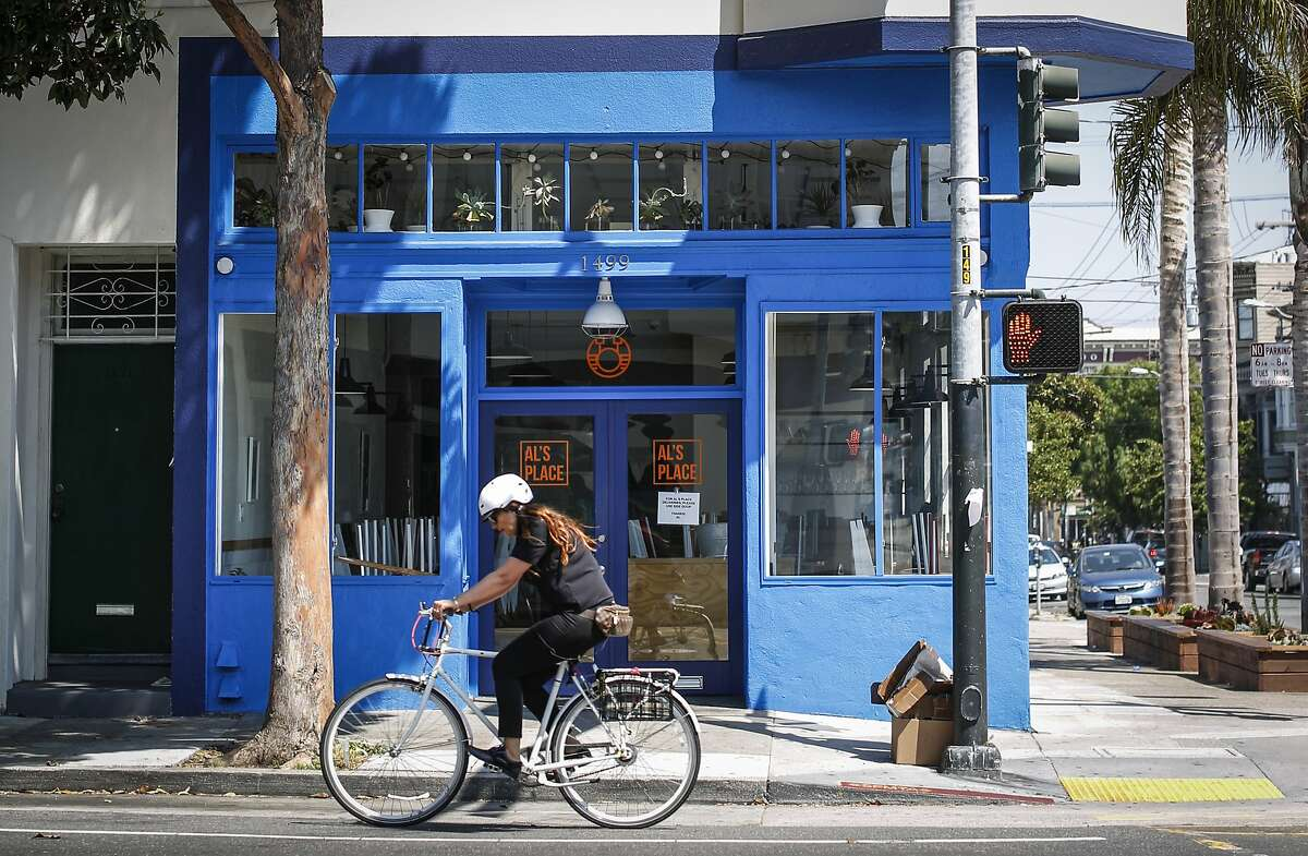 Al's Place is seen on Monday, Aug. 17, 2015 in San Francisco, Calif.