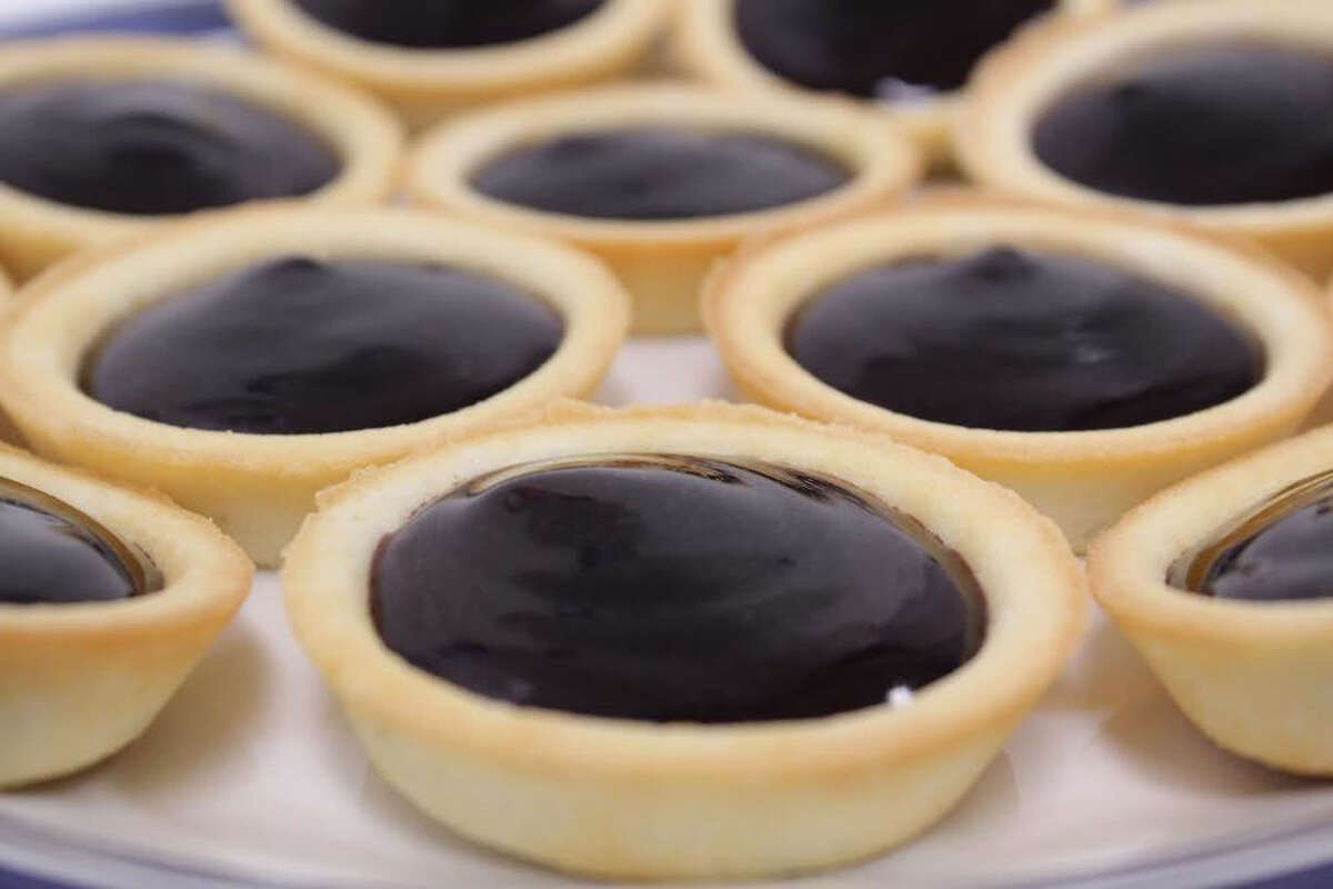 A blueberry tart is sold at Compassionate Care of Connecticut dispensary in Bethel for $10.00.More edible products