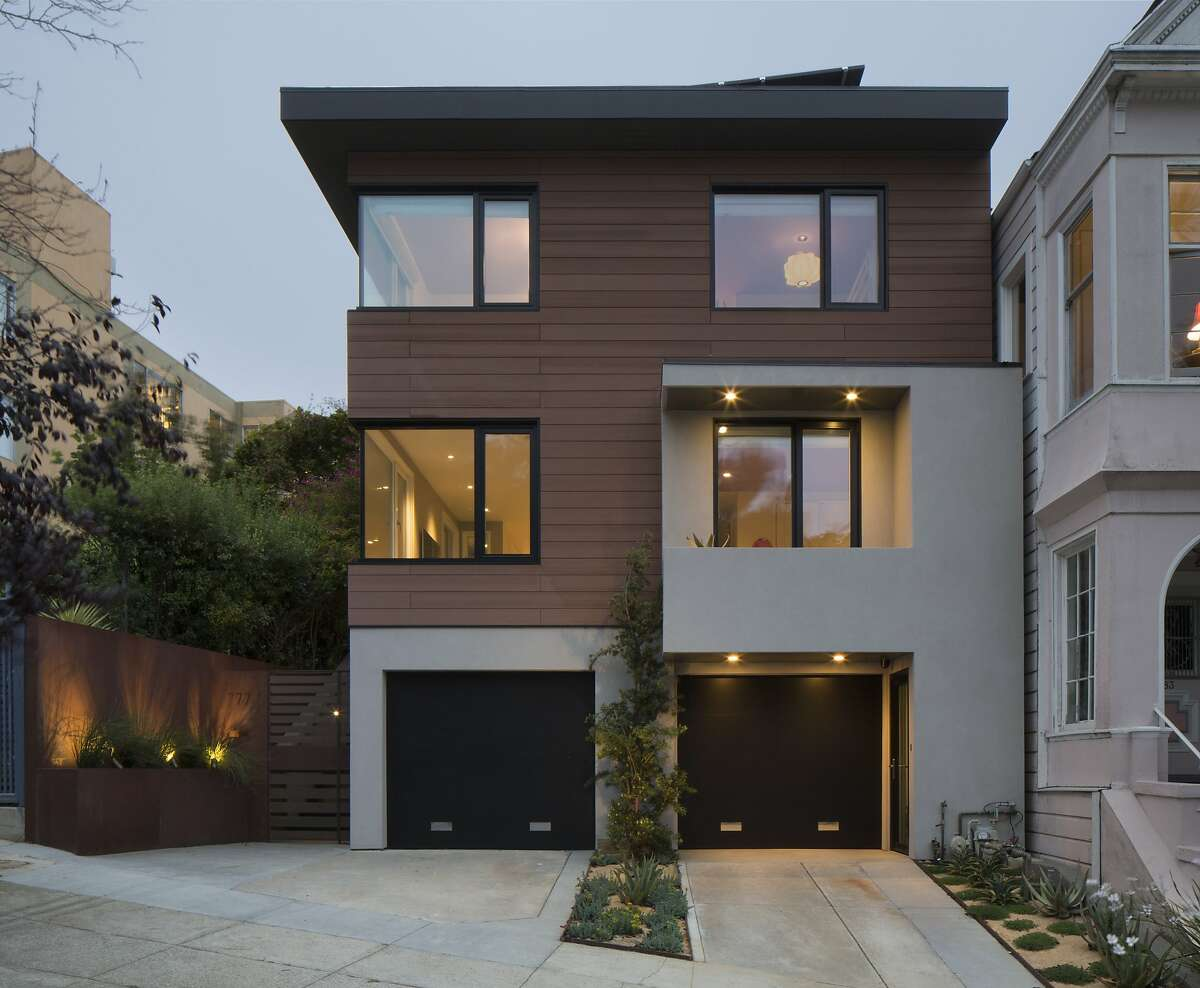 The Buena Vista house, featured on the 2015 AIASF home tour