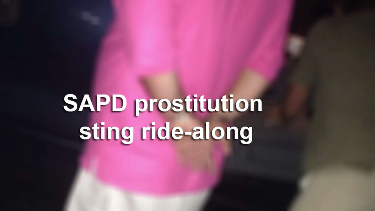 SAPD performed a virtual prostitution sting ride along on Facebook.