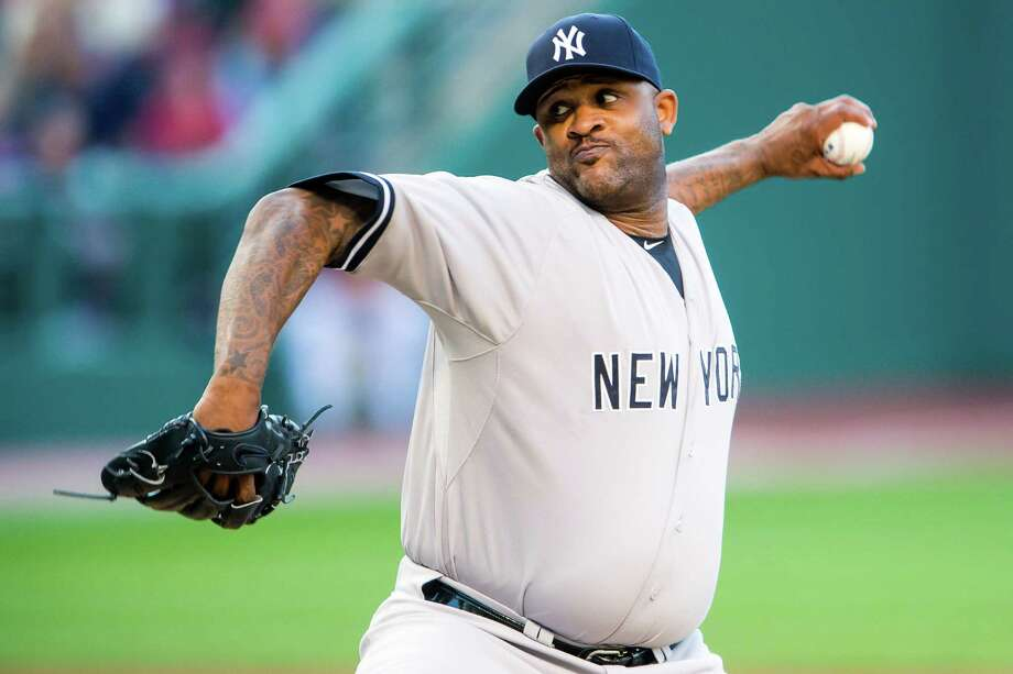 CLEVELAND, OH - AUGUST 12: Starter CC Sabathia #52 of the New York Yankees pitches during the first inning against the Cleveland Indians at Progressive Field on August 12, 2015 in Cleveland, Ohio. (Photo by Jason Miller/Getty Images) ORG XMIT: 538589383 Photo: Jason Miller / 2015 Getty Images