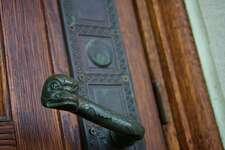 herzstein hall - dolphin doorknob - 45/116