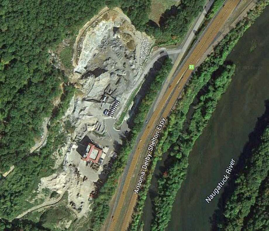 The Haynes quarry is located on Derby Avenue, off Route 8, in Seymour. Photo: Google Earth Image Photo: /