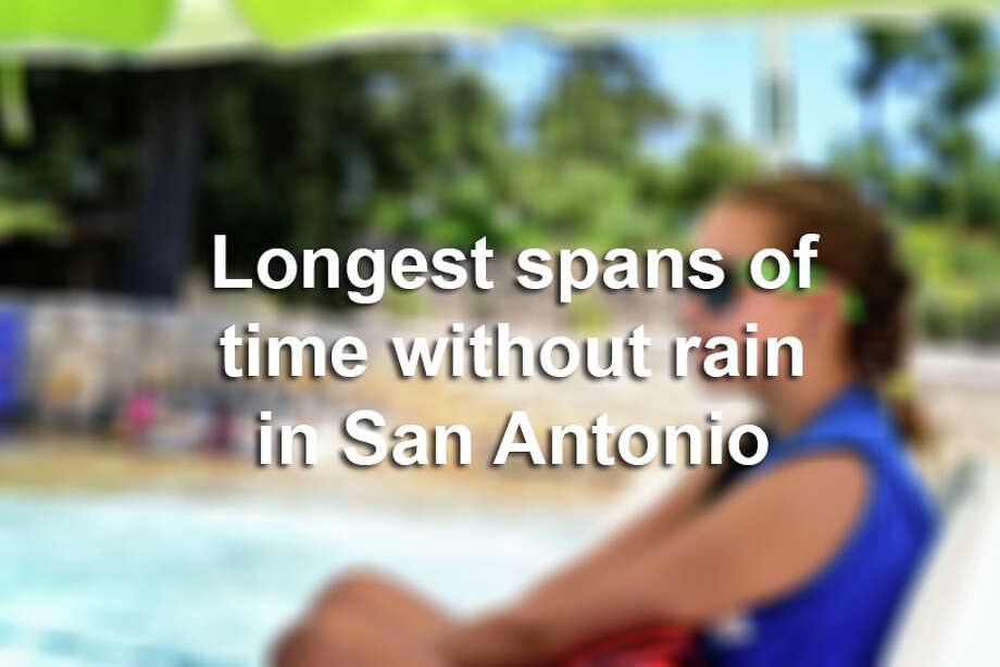 Click through the slideshow to see the longest spans of time when San Antonio went without rain. Photo: File Photo