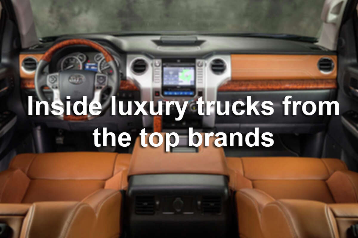 Car makers are putting all kinds of bells and whistles in their top-of-the-line truck models.