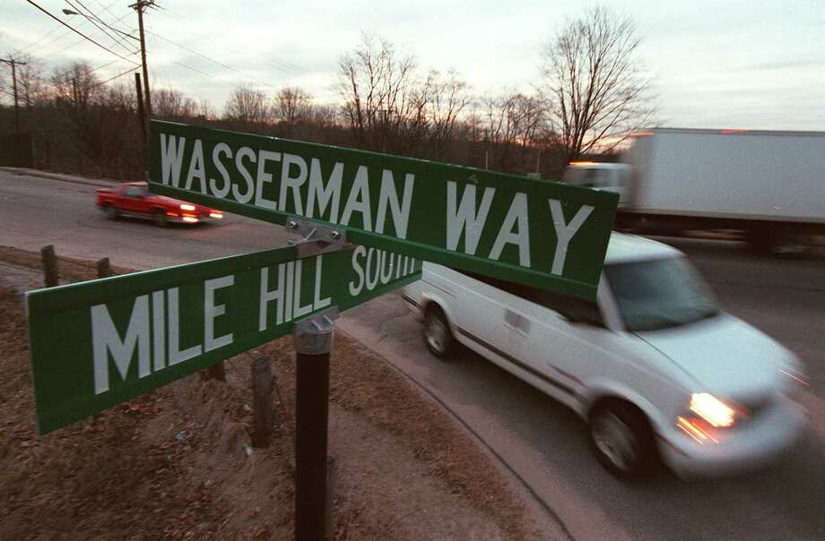 "A road at Fairfield Hills was named as ""Wasserman Way"" in honor of state Rep. Julia Wasserman. Photo: File Photo / The News-Times File Photo"