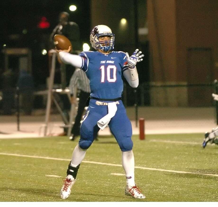 Oak Ridge quarterback Braden Letney is among the key returnees for the War Eagles this fall. Photo: Eddy Matchette, Freelance / Freelance