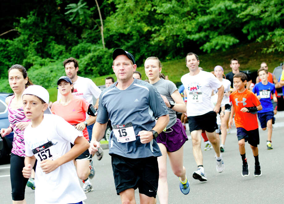 The eighth annual Give a Child a JumpStart 5K/10K Run/Walk and Family Fun Day will be held Sept. 7. Photo: File Photo / Connecticut Post Freelance