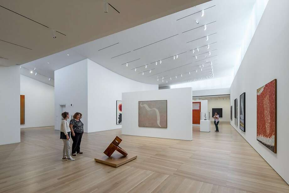 The Anderson Collection at Stanford University opened almost a year ago. Photo: Tim Griffith