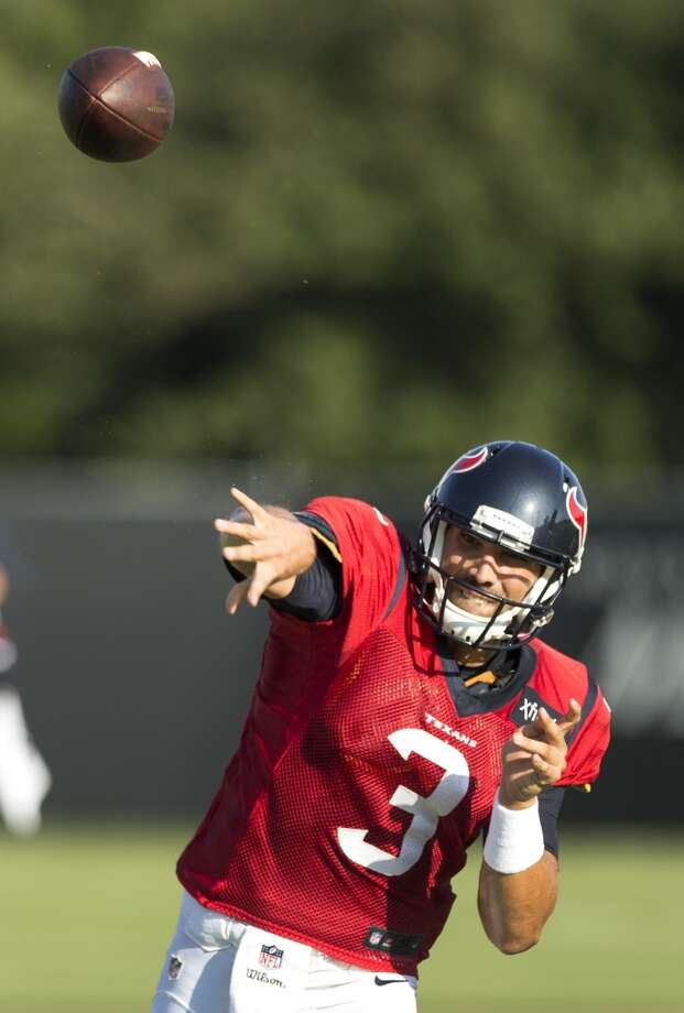 Tom Savage is the backup to starter Brock Osweiler, Texans coach Bill O'Brien said Thursday at training camp. Photo: Houston Chronicle