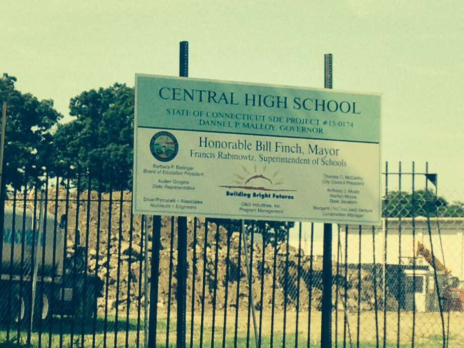 Despite ongoing construction at Central High School, evening adult education classes will begin as usual there in September, officials say. Photo: Linda Conner Lambeck / Connecticut Post / Connecticut Post