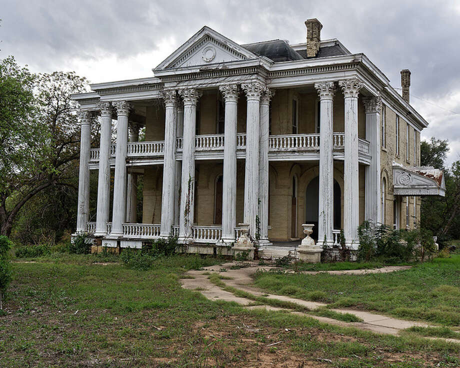 d7b6a9ff4460 This abandoned mansion in Gonzales could be haunted for two reasons. First