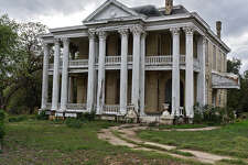 "This abandoned mansion in Gonzales could be haunted for two reasons. First, just the facade of the house is eerie, yet some people call it ""gorgeous."" Second, it was built near the first battle of the Texas Revolution on Oct. 2, 1835."