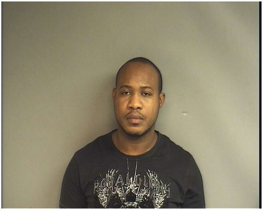 Greg Tate, 38, was arrested Monday after police intercepted the mail delivery of 28 pounds of marijuana. Photo: Contributed / Contributed / Stamford Advocate Contributed