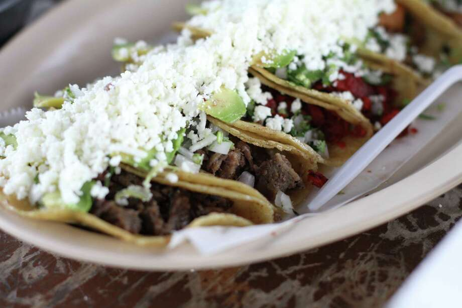 Taco deliciousness at Taqueria Ultimo Taco in Brownsville, Texas. Photo: Marco Torres