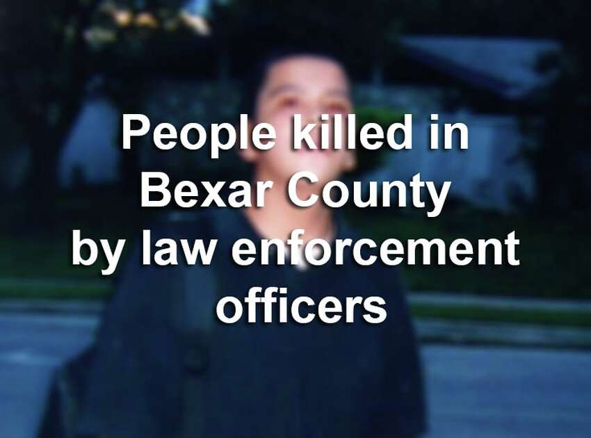 Actions by Bexar County law enforcement officers operating in an official capacity have resulted in the deaths of at least 35 people since 2010, according to San Antonio Express-News archives and Fatal Encounters, a crowd-sourced nonprofit that tracks officer-involved deaths.Scroll through the slideshow to see when San Antonio officers have used lethal force.