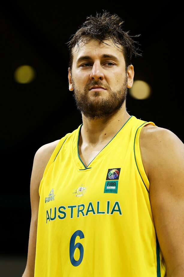 WELLINGTON, NEW ZEALAND - AUGUST 18:  Andrew Bogut of the Boomers looks on during the game two match between the New Zealand Tall Blacks and Australian Boomers at at TSB Bank Arena on August 18, 2015 in Wellington, New Zealand.  (Photo by Hagen Hopkins/Getty Images) Photo: Hagen Hopkins, Getty Images