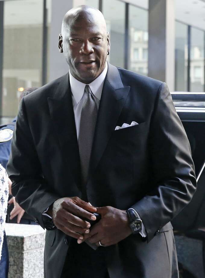 "Michael Jordan says he sued ""to protect my likeness, my image."" Photo: Christian K. Lee, Associated Press"
