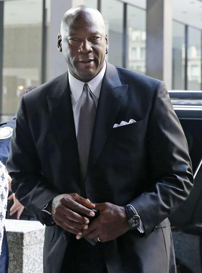 "Michael Jordan says he sued ""to protect my likeness, my image."" Photo: Christian K. Lee, Associated Press"