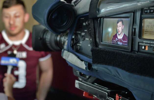 Defensive end Jake LaRovera is interviewed during Union Football Media Day at the college Tuesday August 18, 2015 in Schenectady, NY.   (John Carl D'Annibale / Times Union) Photo: John Carl D'Annibale / 00033048A