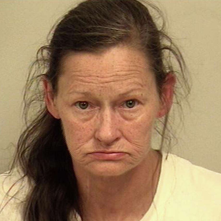 Karen Davidson, 57, of Hill Street, has been charged with possession of narcotics and possession of drug paraphernalia following a motor vehicle stop. Photo: Westport Police Department / Westport Police Department / Westport News