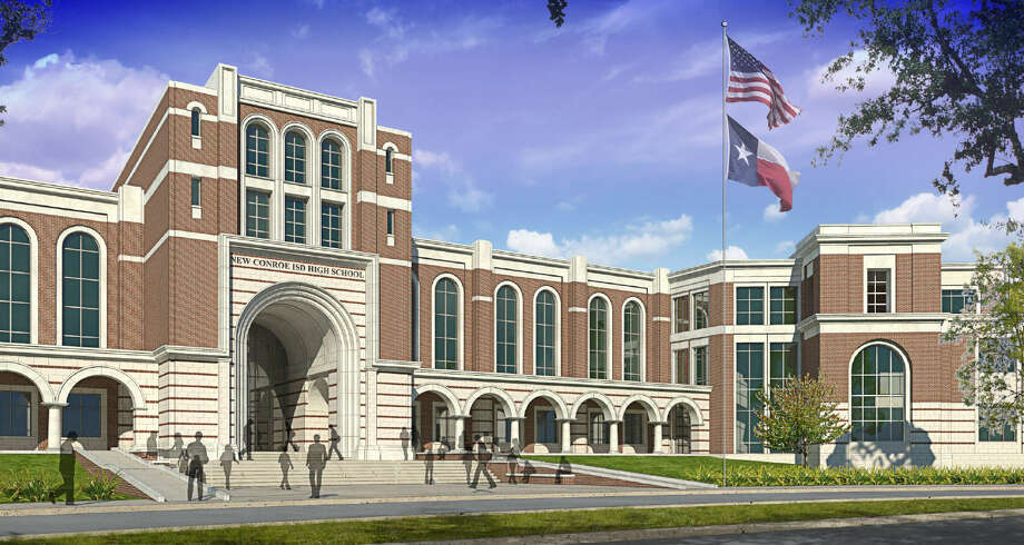 Design plans for a new high school in the Oak Ridge feeder zone have been released. PBK Architects was contracted by CISD to design the new high school, which is expected to be built from a proposed $487 million bond. The 3,000-student campus is slated to be built off Riley Fuzzel Road and open in August 2018.