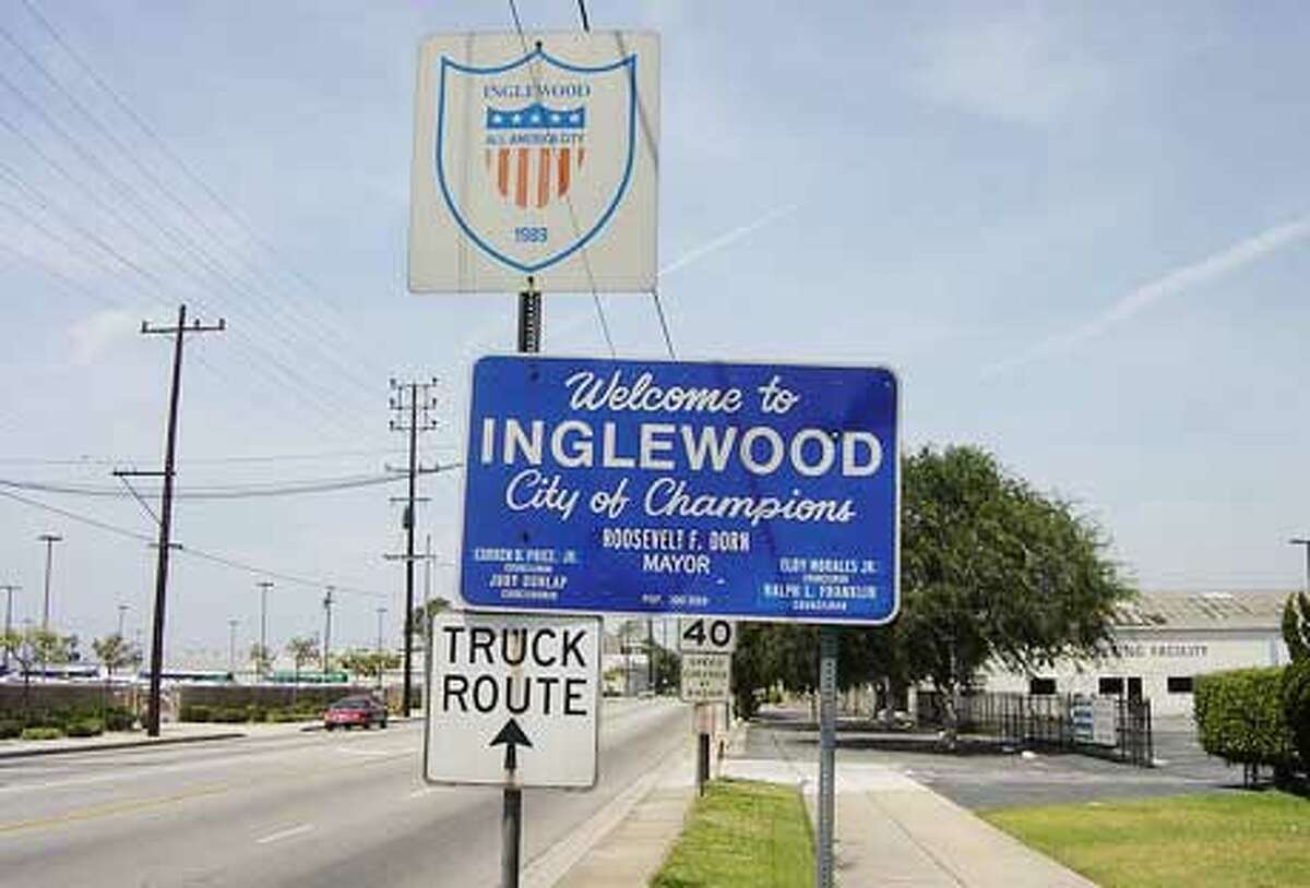1. Inglewood, California Women's income as a percentage of men's: 120.6% 2013 median income for all workers: $25,749.00