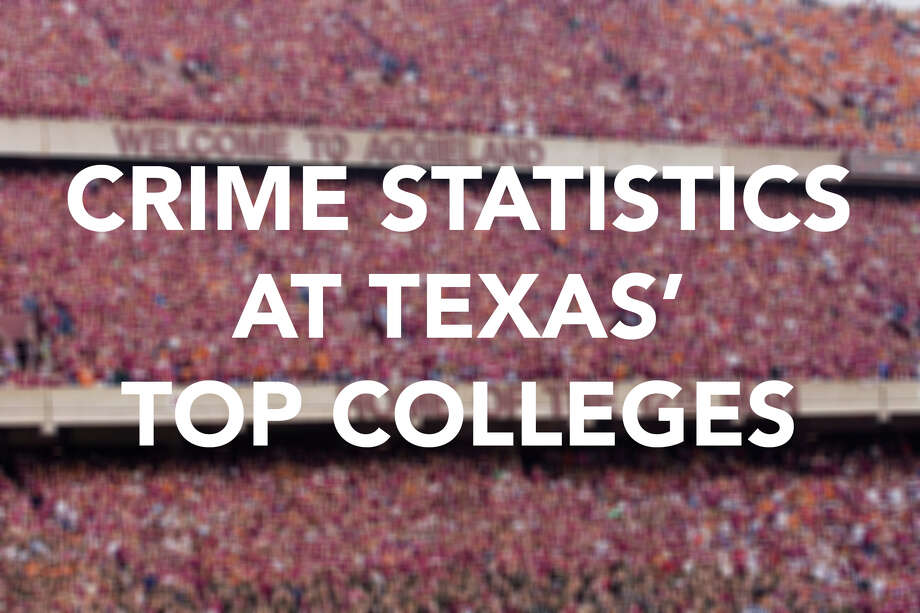 Universities report crime data to the U.S. Department of Education for criminal offenses that occur on campus, in student housing and on non-campus property related to the university. The following slideshow targets 2014 statistics, the latest numbers, on murder and manslaughter, sex offenses, robbery, aggravated assault and arson. These crime statistics represent alleged offenses reported to campus security and do not reflect prosecutions or convictions. Photo: Wesley Hitt, San Antonio Express-News / 2006 Wesley Hitt