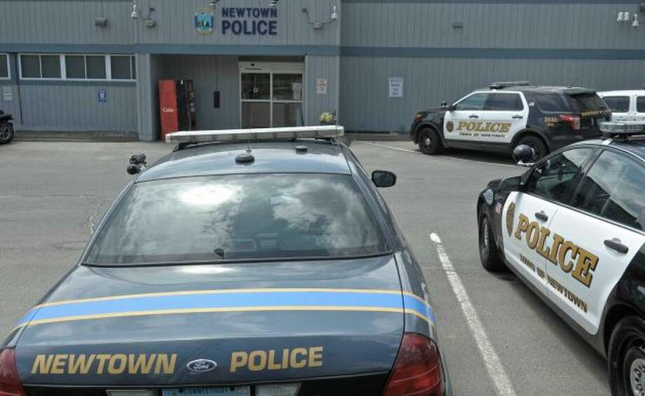 Newtown police said Joshua Adams, 24, stole items from his own family last week and asked for money for the return of the objects. Photo: H John Voorhees III / Hearst Connecticut Media