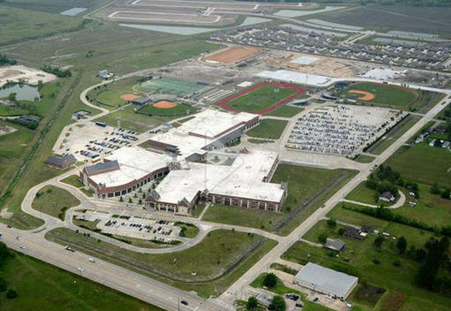 Alvin Independent School District is debuting its latest campus, Manvel Junior High School, at 7302 McCoy St. in Manvel this year. The $28.7 million project began in January 2014 and recently opened. Photo: Alvin ISD