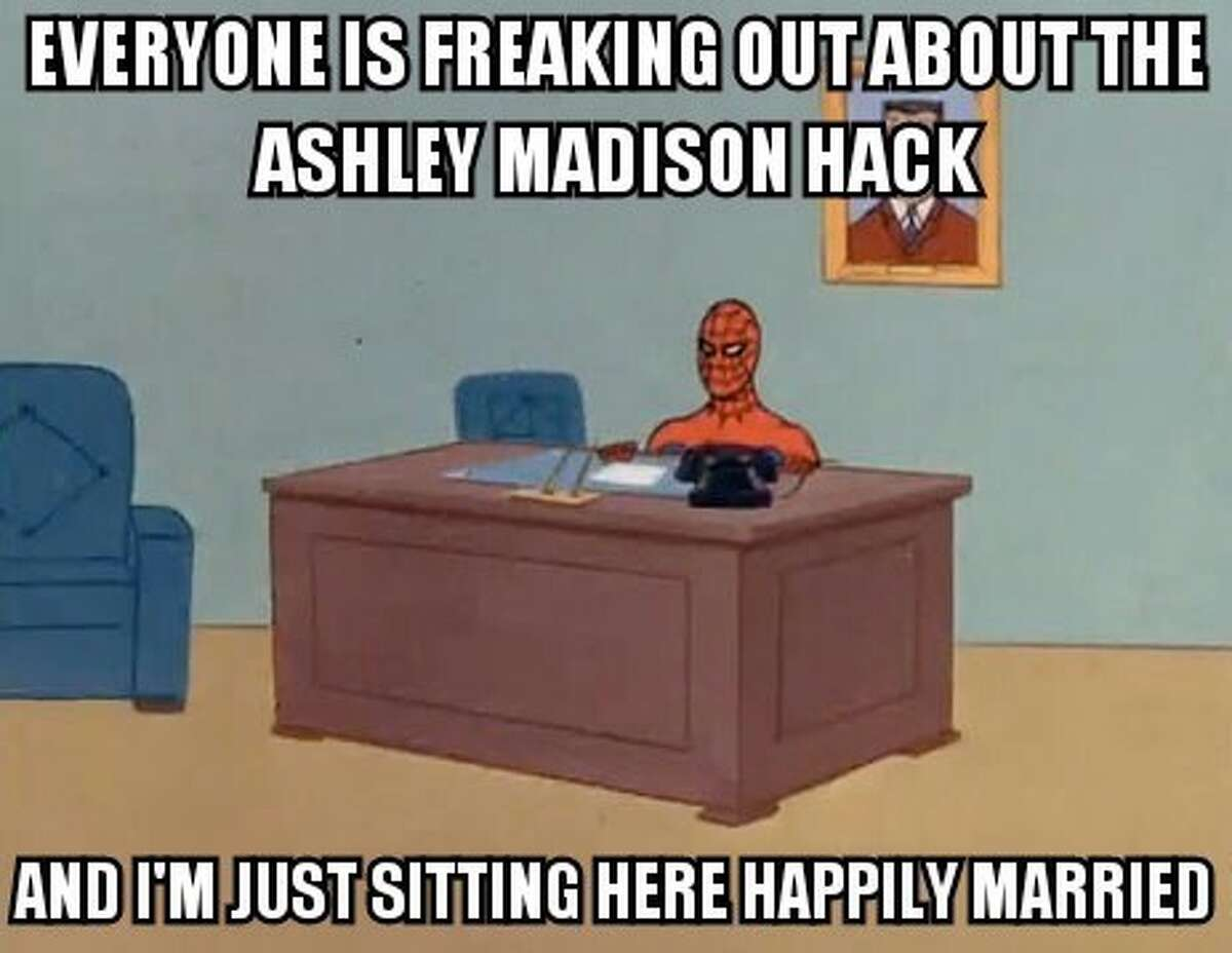 After hackers released the names of millions of users on popular cheating website, Ashley Madison, memes captured the Internet's thoughts on the hack.