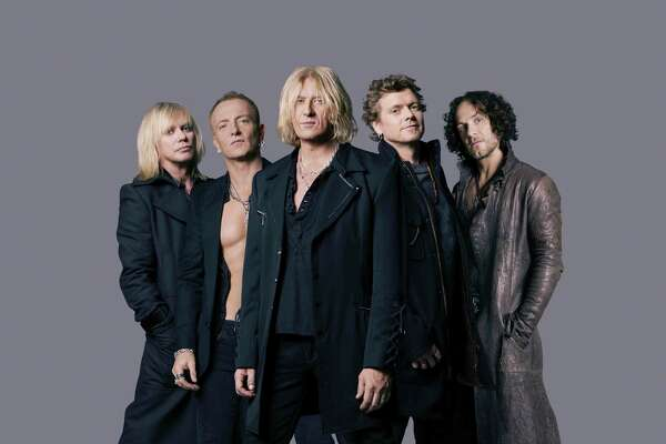 Def Leppard brings its hard-hitting classic rock to The Woodlands Pavilion.