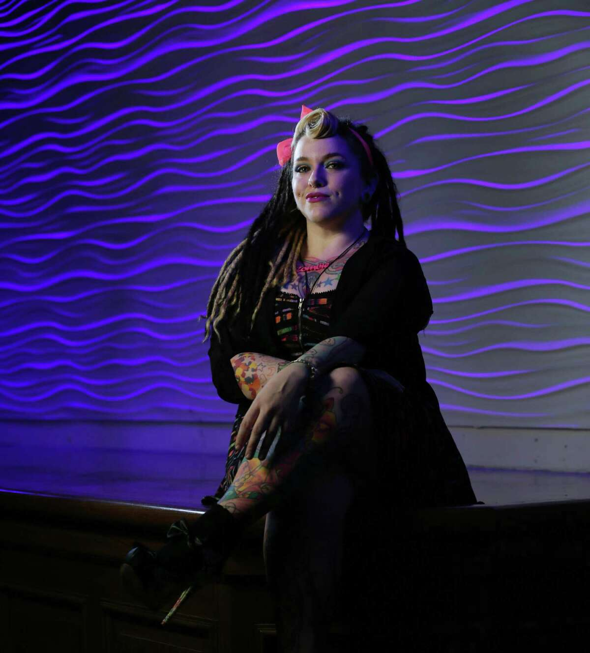 Nina Lombardo is passionate about her high heels. The performer says she has about 80 pairs.