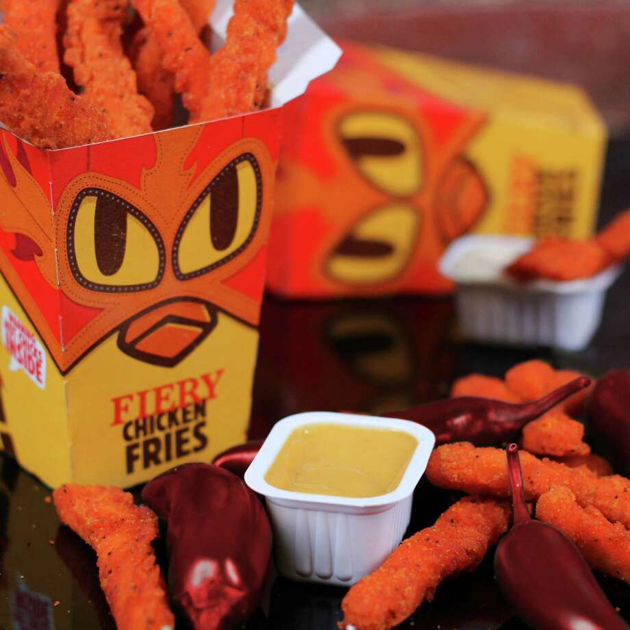 Burger King's Fiery Chicken Fries are available for a limited time.